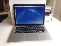 MacBook Pro Retina 13, 2.4GHz 8GB Ram, 250GB drive (2013)