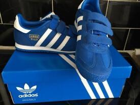 Adidas dragon brand new in box size 1