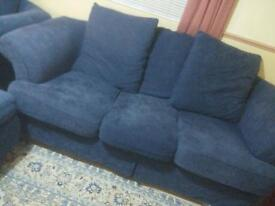 2 & 3 seater sofas with square table