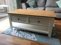 Solid Oak Top Coffee Table - For Sale!!!