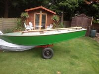 boat with trailer £200 will swap for a car trailer