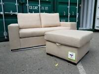 NEW Beige 4 in 1 Chaise Corner Sofa Sofa Bed Storage DELIVERY AVAILABLE