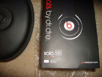 BEATS BY DR,DRE NEW SOLO WIRED HEADPHONES...COST £169