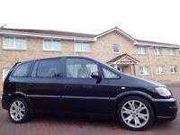 12 MONTH WARRANTY! (54) VAUXHALL Zafira GSi Turbo 200 BHP MPV 7 Seater - Low Mileage - FSH - RECAROS