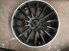 Mercedes a class Amg wheel