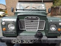 1973 Landrover Series 3. Tax exempt.