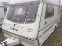 Compass ralley 1996 2 berth touring caravan