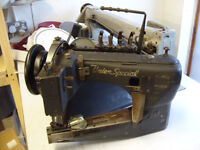 Union Special Twin Needle Sewing Machine