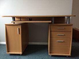 Piranha computer desk