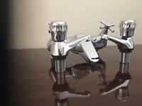 Bath mixer and basin taps Brand new