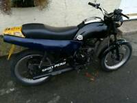 100cc 2stroke derbi fast little bike Mot until feb