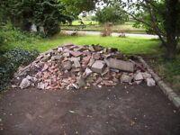 rubble/hard fill