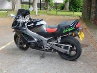 KAWASAKI ZX6R WITH 1 YEARS MOT