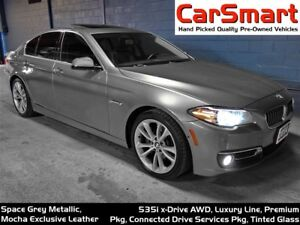 2014 BMW 535I xDrive, Premium + Connected Drive Serviced Pk'g