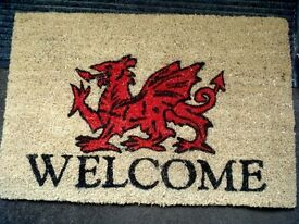 welsh door mat