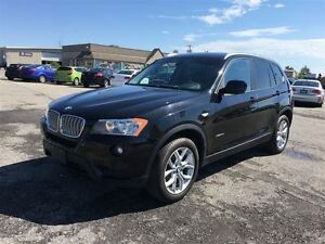 2013 BMW X3 28i/CARPROOF CLEAN/BLUETOOTH/HEATED SEATS/AWD