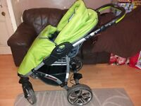 Babies 3in1 travel system pram/carry cot/car seat