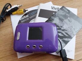 Vivitar purple camera brand new