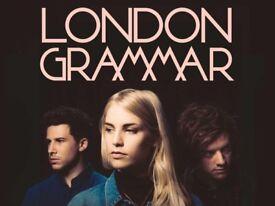 London grammar tickets x2