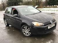 VOLKSWAGEN GOLF 1.6 SE TDI MK6 2010 £30 TAX 1 YEAR