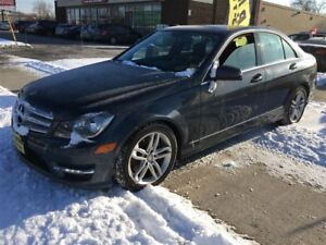 2013 Mercedes-Benz C-Class 300, Automatic, Leather, Sunroof, AWD