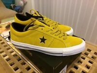 Converse one star skate yellow bird shoes BRAND NEW