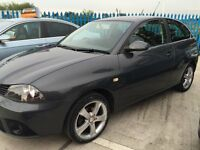 2007 07 Seat Ibiza 1.4 SPORT - Full 12 Months MOT - 89k - Service History - FREE WARRANTY!!
