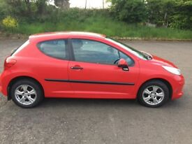 2008 PEUGEOT 207, 1.4 PETROL, 3 DOOR, MOT 3 OCTOBER 2019, PERFECT FOR FIRST TIME DRIVER, ECONOMICAL