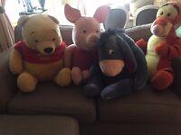 Super sized Winnie The Pooh teddies