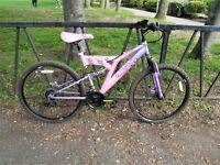 Ladies Disk Brake MUDDY FOX Suspension Mountain Bike. Fully Serrviced, Ready To Ride & Guaranteed