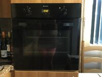 Hotpoint electric cooker and hob