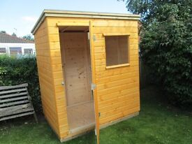6FT X 4FT Garden shed new quality shed all t and g shiplap in roof and sides and 19 mm tand g floor