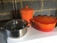 Le creuset set worth over £300 new