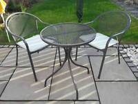 Garden Chairs and Table