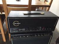 1969 Carlsbro CS60w + Simms Watts vintage valve amplifier