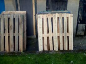 9 Wooden Pallets
