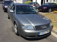 Audi A6 1.9 se turbo diesel estate 2003 facelift model 5 door mot November 2018 service history