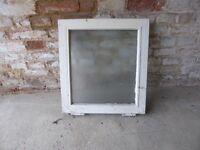 Double glazed wooden casement window