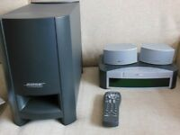 BOSE 3-2-1 GS DVD HOME ENTERTAINMENT SYSTEM. FULLY WORKING AND GOOD CONDITION.