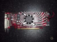 Asus HD 5570 1GB Low Profile Radeon PCIe graphics video card