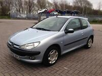 2001 Peugeot 206 1.1 Petrol * 1 Lady Owner From New *