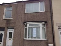 Large 3 Bedroom terraced house with garrage. Spennymoor