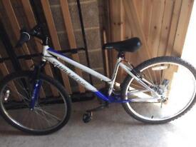 Front suspension bike