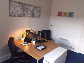 Beautiful fully furnished office available now - £285.00 PCM *** ALL INCLUSIVE***
