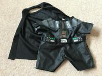 Build a Bear Darth Vader outfit