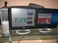 Twin-Screen Computer