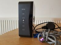 Sky broadband router with power cable