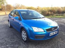 2006 FORD FOCUS LX AUTOMATIC VERY LOW MILEGE 5 DOOR HATCHBACK
