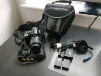 Nikon D60 with shoulder bag, 2 lithion batteries, 2Gb SIM card and UK/EU charger