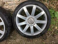 "Audi rs4 18"" alloys 5x112 a4 a6 Skoda vw Passat"
